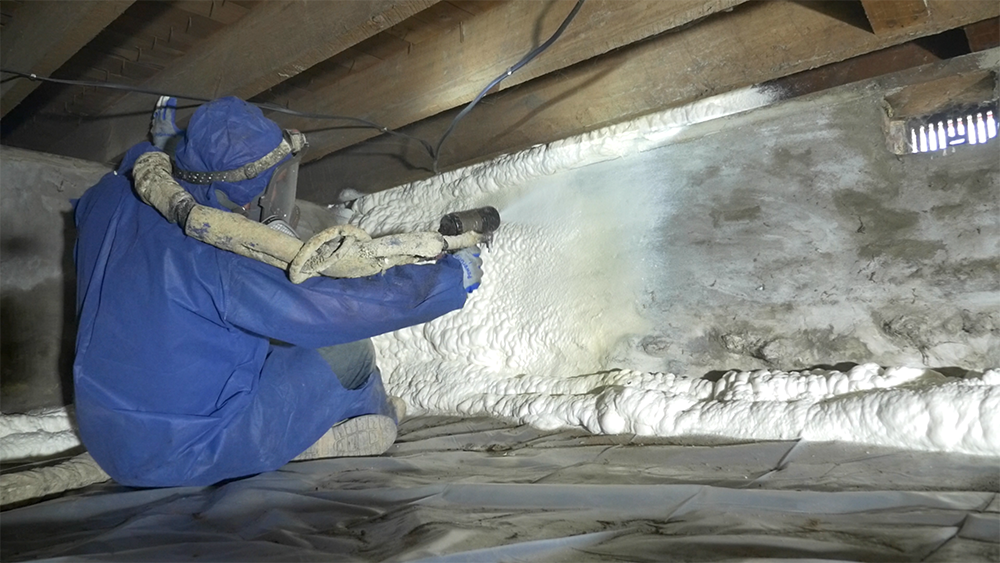 Spray Foam for Crawl Spaces