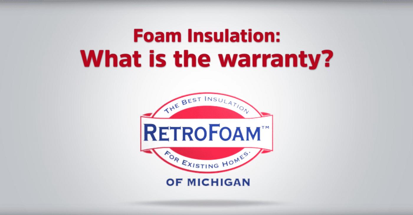 Lifetime Warranty For Foam Insulation Retrofoam Of Michigan
