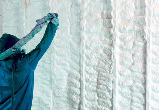 spray foam insulation for new build homes