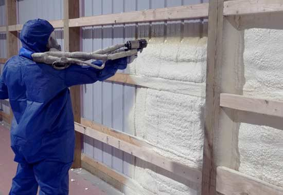 Pole Barn Spray Foam Closed Cell