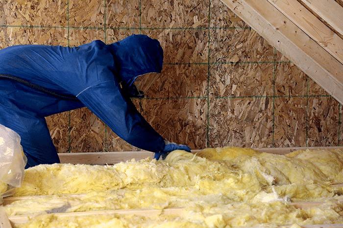 fiberglass home insulation