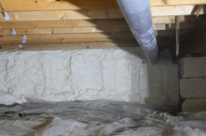 insulating crawl space