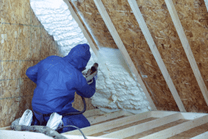cost spray foam insulation