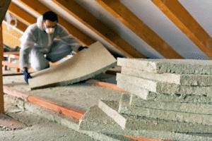 attic cellulose insulation