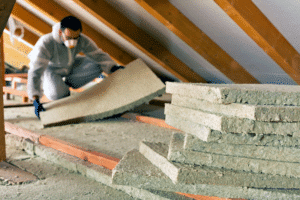 attic cellulose insulation