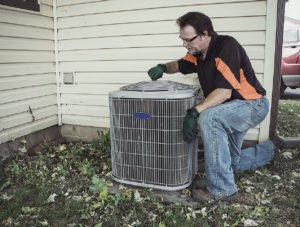 Check air conditioning unit