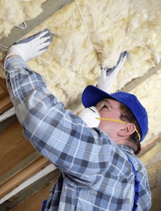 attic fiberglass insulation