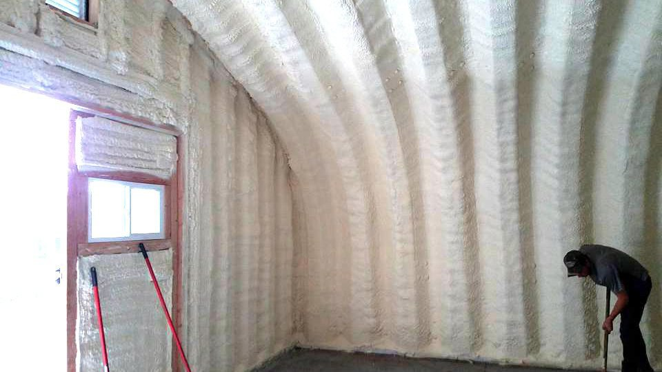 How to insulate a pole barn
