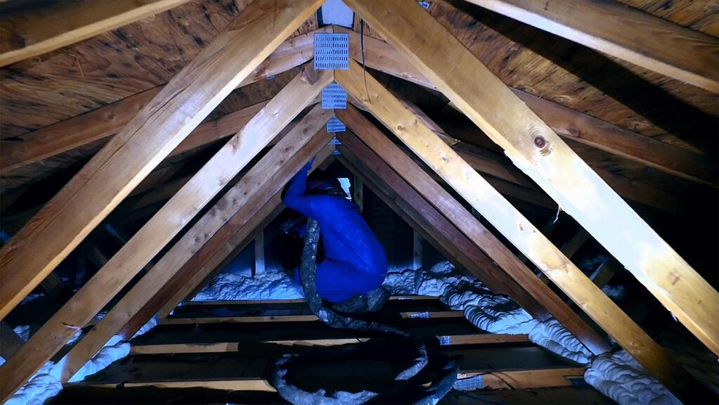 How to insulate an attic