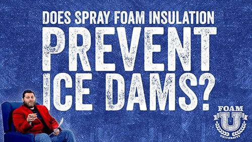 Does Spray Foam Prevent Ice Dams