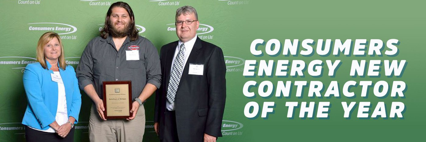 RetroFoam of Michigan Recognized for Energy Efficiency by Consumers Energy