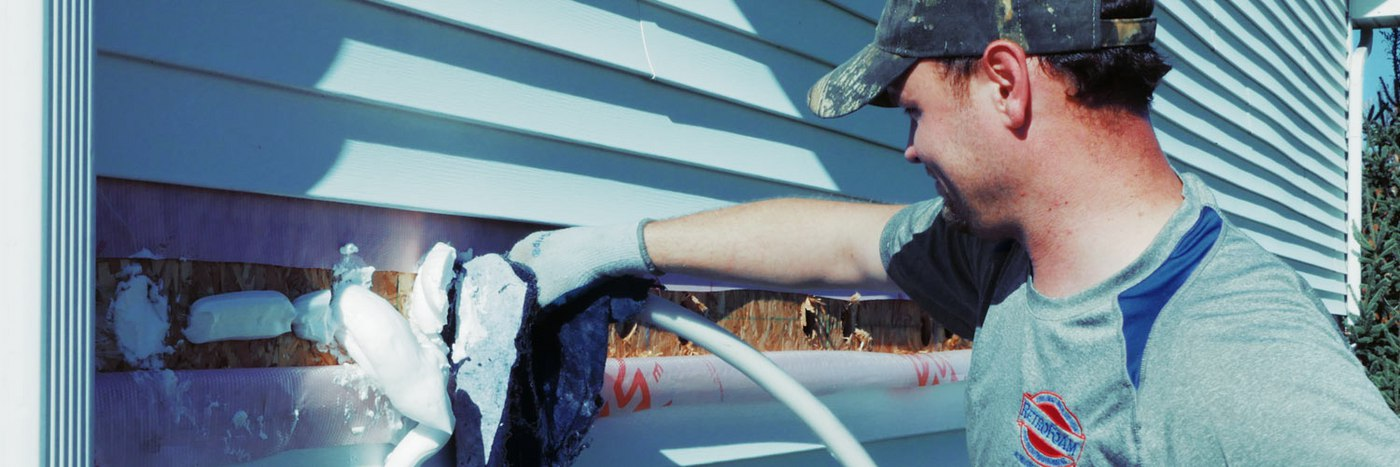How to Insulate a House Without Taking Down Drywall