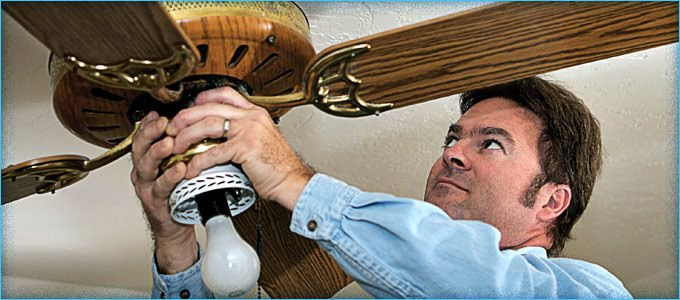 Use Ceiling Fans in Winter to Push Down Warm Air