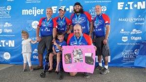 RetroFoam of Michigan Bikes 300-Miles to Grant Wishes