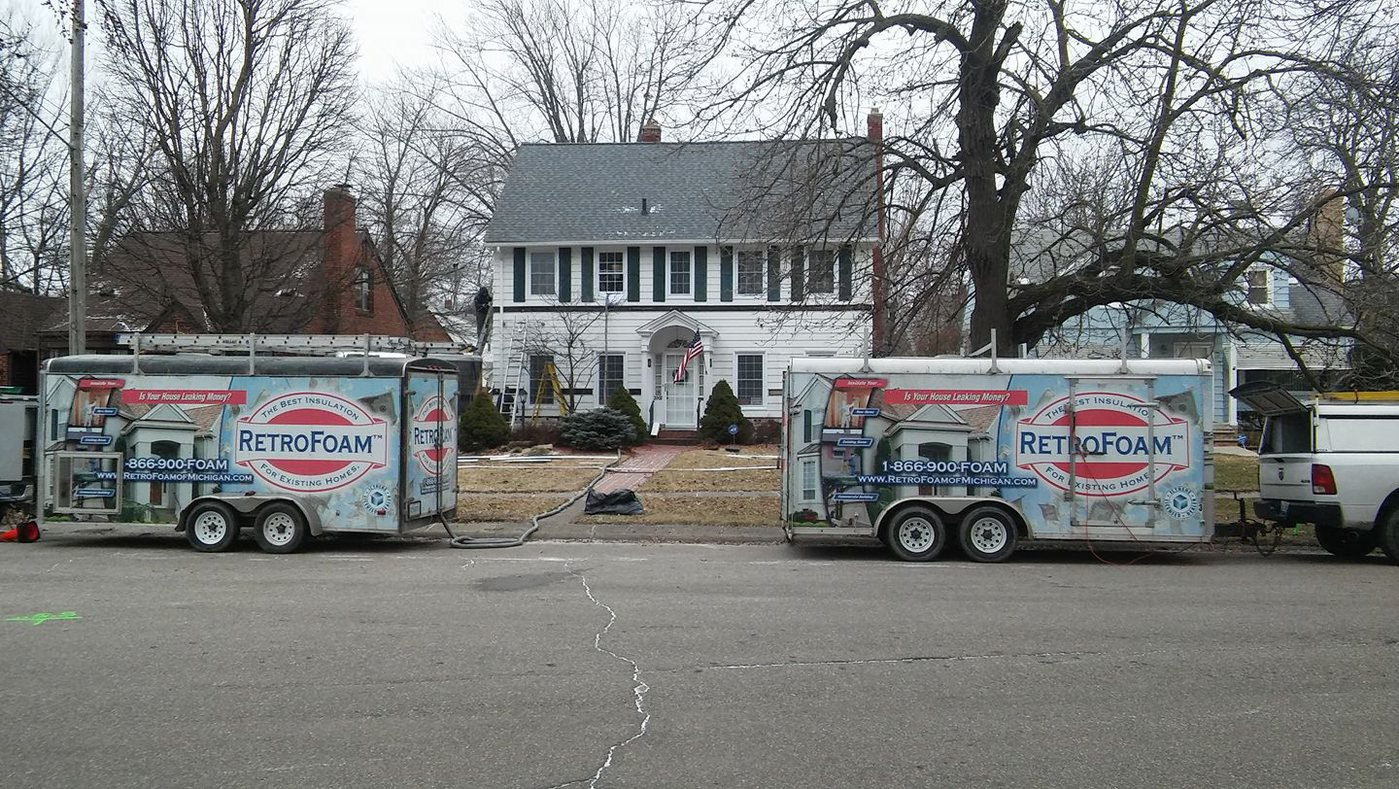 RetroFoam of Michigan Insulates Home for Wounded Veterans