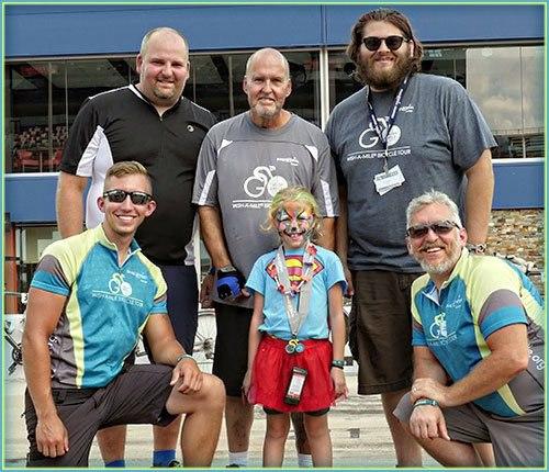Team RetroFoam of Michigan Bikes Across Michigan to Grant Wishes